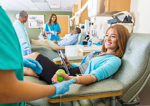 Donating Blood… You Benefit, Too!<br />