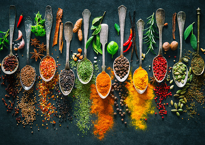 Herbs and Spices for Your Health