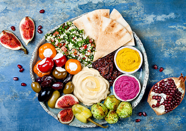 Top 5 Mediterranean Foods<br />